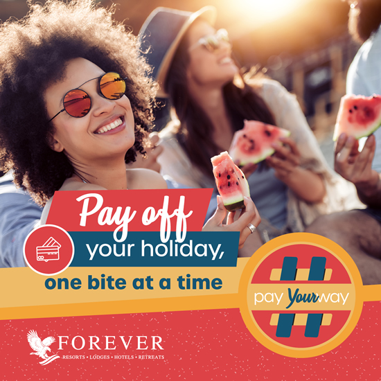 #PayYourWay: Flexible payment options for your stay.