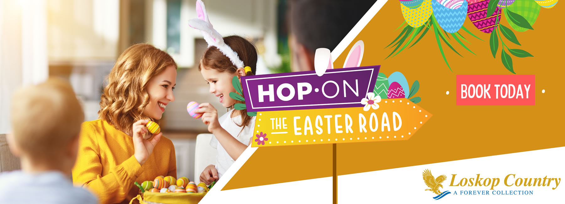 Hop on the road to Easter - It's never too late to start planning.