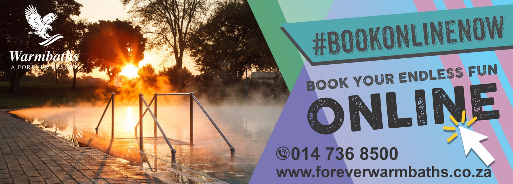 Book now at Warmbaths, a Forever Resort
