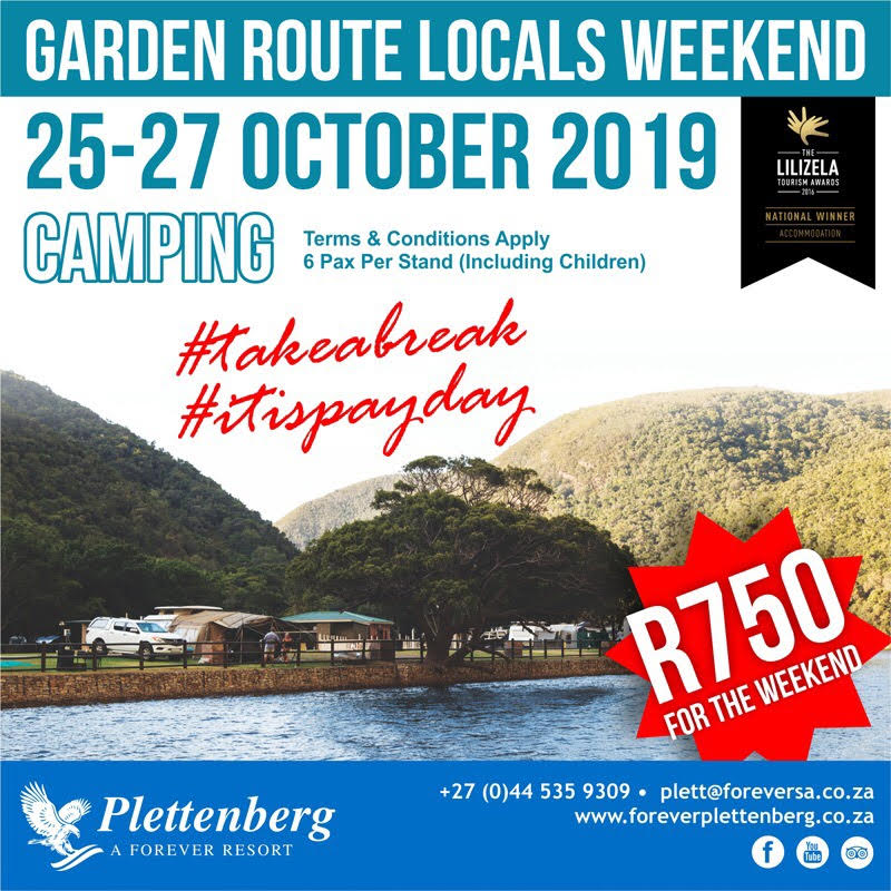 Garden Route Locals Weekend