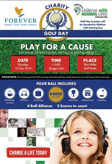 FOREVER Charity Golf Day